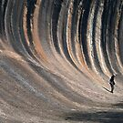 All About Perspective - Wave Rock, Hyden NSW by Malcolm Katon