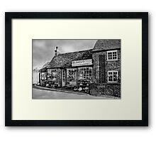 W. Pond Ironmongers Framed Print