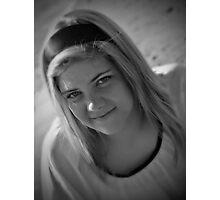Snow White & Black Photographic Print