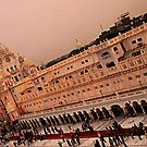 Clock tower-Golden Temple by manumint