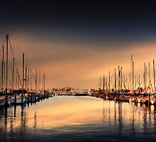 Yacht Row by Stephen Warren