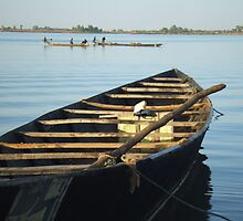 Boat, Mopti, River Niger by celticspring