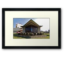 Danforth Chapel Framed Print