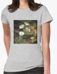 Field Flower T-Shirt Womens Fitted T-Shirt