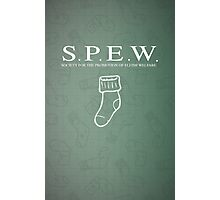 S.P.E.W Society for the Promotion of Elfish Welfare Photographic Print