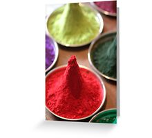 Pigment- Piles of Color Greeting Card