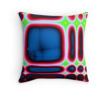 cortexual revolution in laptop land Throw Pillow