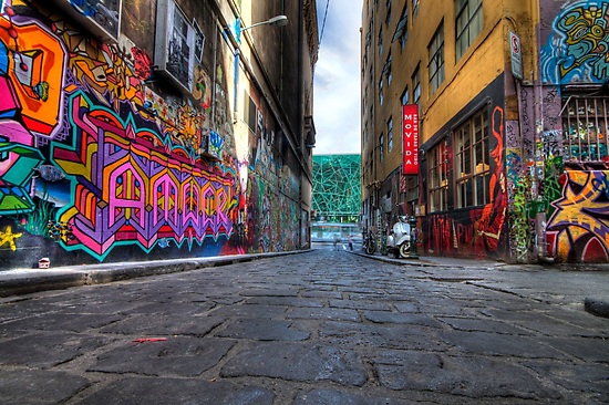Hosier Lane by Richard  Cubitt