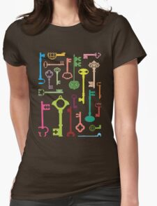 Keys Womens Fitted T-Shirt