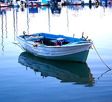 Fishing boat by Carolyn Carter