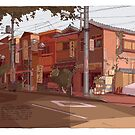 Yanesen Tokyo by David  Kennett