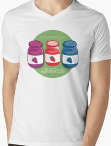 Proud Member of the Jelly of the Month Club Mens V-Neck T-Shirt