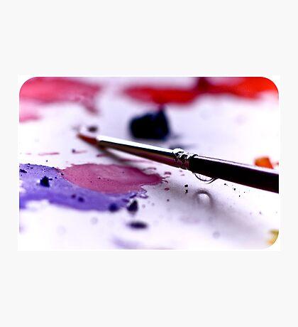 Paintbrush Photographic Print