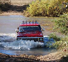 Fording the White Water River by barnsis