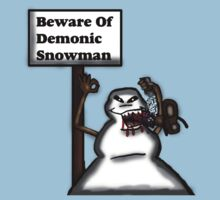 Demonic Snowman by Rajee