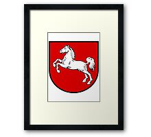 Lower saxony coat of arms Framed Print