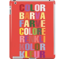 Color iPad Case/Skin