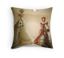 Doll in my House 004 Throw Pillow