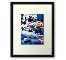 Boys Toys Series 1 - Cars Framed Print