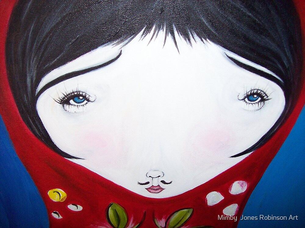 """milly the babushka doll"" by Mimby Jones Robinson Esquire"