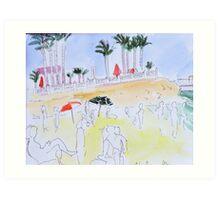 Cabo Roig Spain Art Print