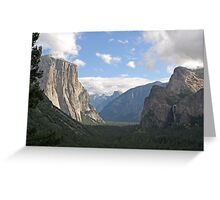 """Valley View"" Greeting Card"