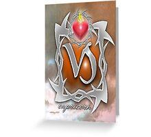 astrology capricorn Greeting Card