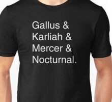 & Nightingale Unisex T-Shirt