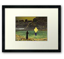 A Monk's Journey Framed Print