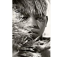 African Boy Photographic Print