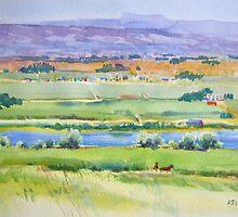 Pasture, Nampa, Idaho by Norman Kelley