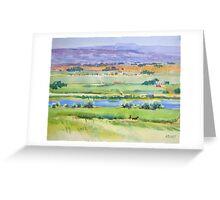 Pasture, Nampa, Idaho Greeting Card