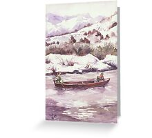 Float Trip - ...Cold Trip... Greeting Card
