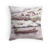 Float Trip - ...Cold Trip... Throw Pillow