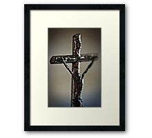 Be Still And Know That I Am.. Framed Print