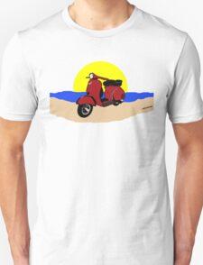 Sun sea Scooter T-Shirt