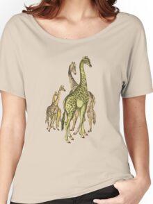 A group of Giraffes. Women's Relaxed Fit T-Shirt