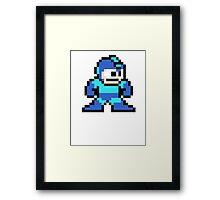 Megaman 8 Bit (Megaman) Framed Print