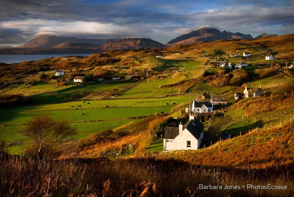 Tarskavaig in November. Isle of Skye. Scotland. by photosecosse /barbara jones