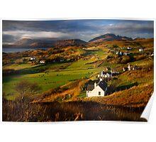 Tarskavaig in November. Isle of Skye. Scotland. Poster