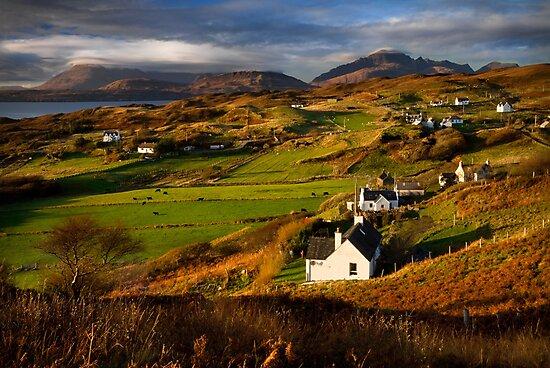 Tarskavaig in November. Isle of Skye. Scotland. by PhotosEcosse