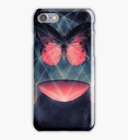 Beautiful Symmetry Surreal Butterfly iPhone Case/Skin