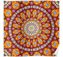 'Inside the Singularity Mandala 1' Poster