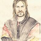 Boromir Sean Bean by morgansartworld