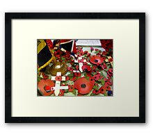ARMISTICE DAY Framed Print