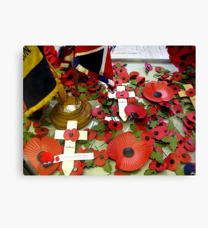 ARMISTICE DAY Canvas Print