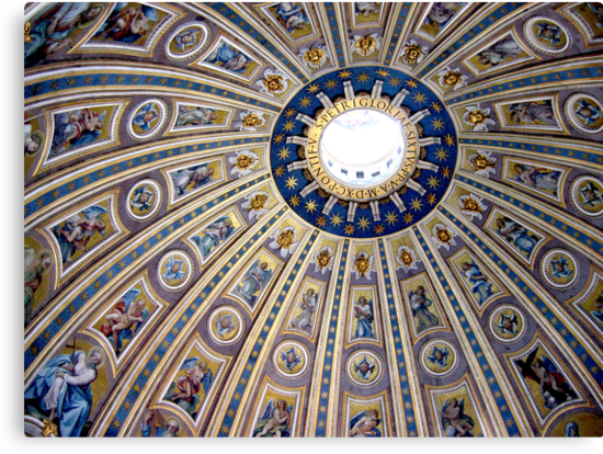 St Peter's dome, Vatican City by Jeanne Horak-Druiff