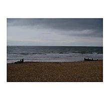 UK Pebble Beach  Photographic Print