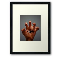 Don't Blink! Framed Print