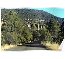 On the Road to Gila Cliffs Poster